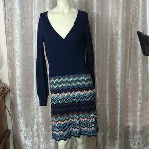 MISSONI Knit Wool Sweater Dress
